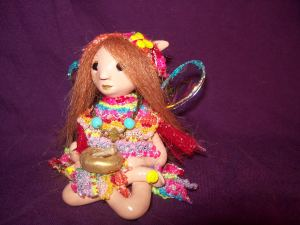 ploymer clay fairy
